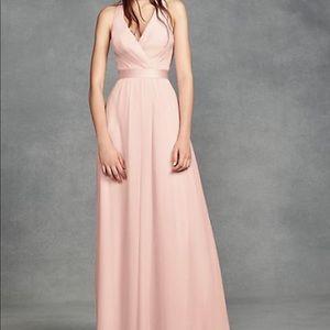 Vera Wang chiffon bridesmaid dress size 2